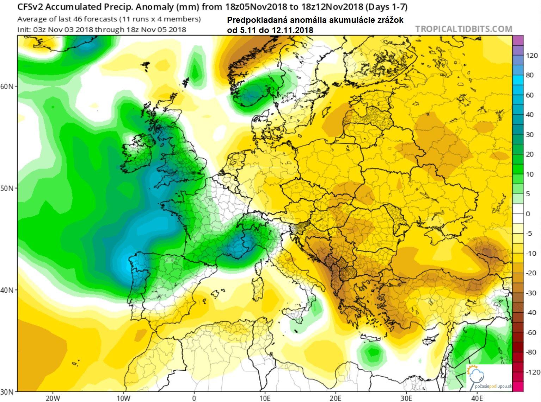 b97582e95 🌡Teplo a sucho minimálne do polovice novembra 🏜 - Počasie pod lupou