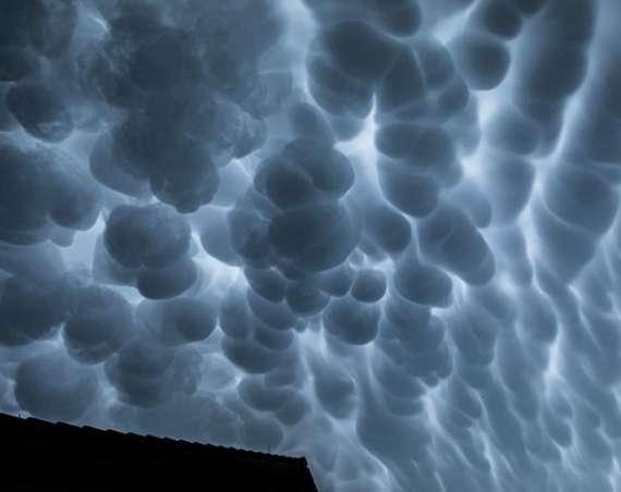 Dnešné oblaky mammatus